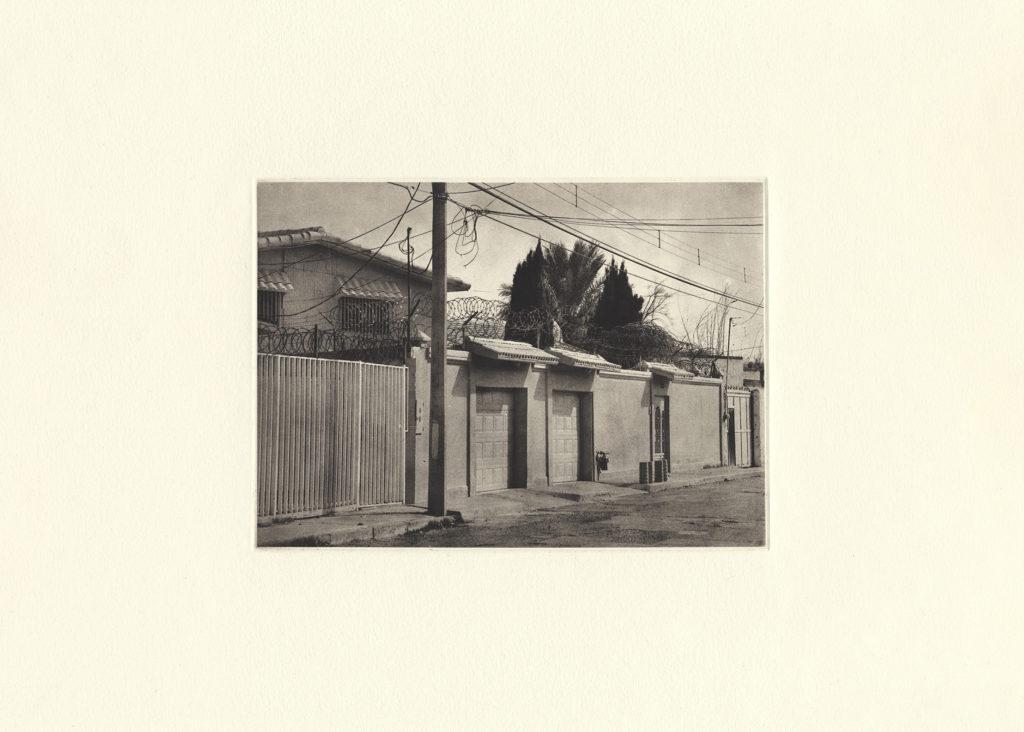 Del Ejido Cd Juárez Chih. Mexico - photogravure - 11 x 15 in.