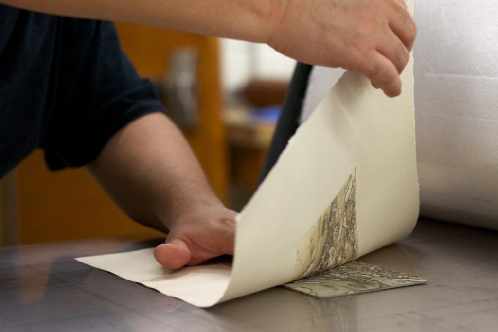 pulling a print